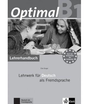 Книга для вчителя Optimal B1 Lehrerhandbuch+Lehrer-CD-ROM