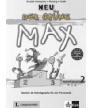 Рабочая тетрадь Der Grüne Max Neu 2 Arbeitsbuch mit Audio-CD