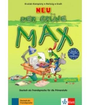 Підручник Der grüne Max Neu 1 Lehrbuch