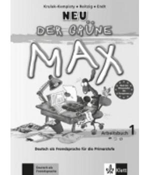Робочий зошит Der Grüne Max Neu 1 Arbeitsbuch mit Audio-CD