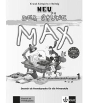 Книга для вчителя Der Grüne Max Neu 1 Lehrerhandreichungen
