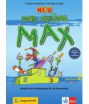 Підручник Der Grüne Max Neu 2 Lehrbuch
