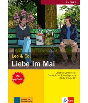 Книга для читання Liebe im Mai (Stufe 2) Buch + CD