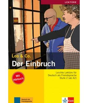Книга для читання Der Einbruch (Stufe 2) Buch + CD