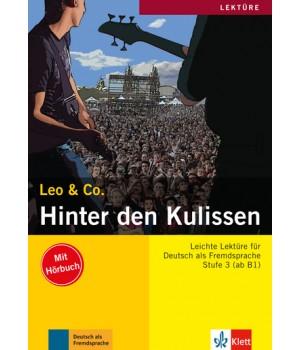 Книга для читання Hinter den Kulissen (Stufe 3) Buch + CD