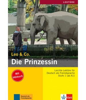 Книга для читання Die Prinzessin (Stufe 1) Buch + CD