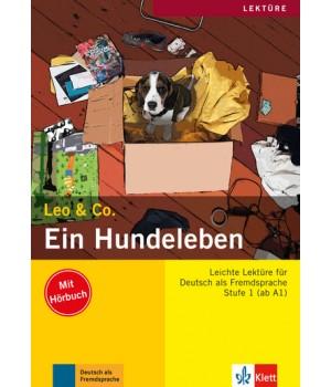 Книга для читання Ein Hundeleben (Stufe 1) Buch + CD