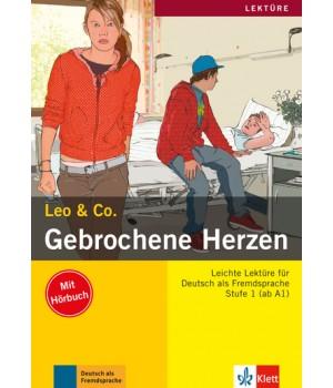Книга для читання Gebrochene Herzen (Stufe 1) Buch + CD