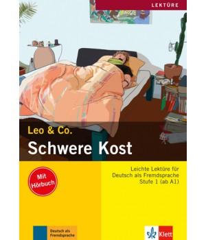 Книга для читання Schwere Kost (Stufe 1) Buch + CD