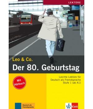 Книга для читання Der 8. Geburtstag (Stufe 1) Buch + CD