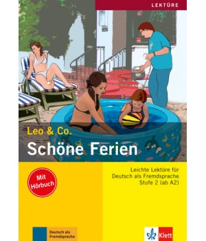 Книга для читання Schöne Ferien (Stufe 2) Buch + CD