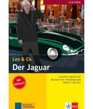 Книга для читання Der Jaguar (Stufe 2) Buch + CD