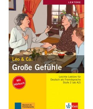 Книга для читання Große Gefühle (Stufe 2) Buch + CD