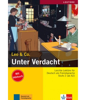 Книга для читання Unter Verdacht! (Stufe 2) Buch + CD