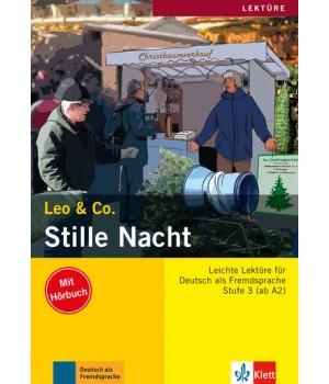 Книга для читання Stille Nacht (Stufe 3) Buch + CD