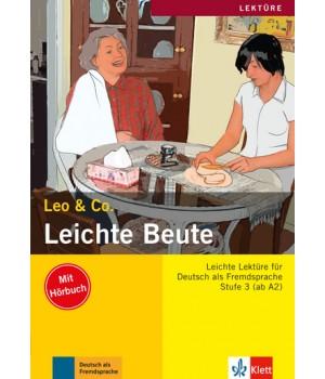 Книга для читання Leichte Beute (Stufe 3) Buch + CD