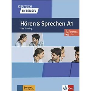 Підручник Deutsch intensiv Hören und Sprechen A1 Das Training. Buch + Onlineangebot
