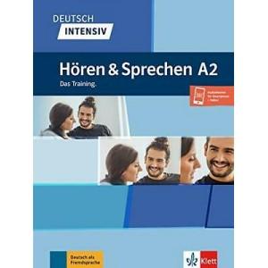 Підручник Deutsch intensiv Hören und Sprechen A2 Das Training. Buch + Onlineangebot