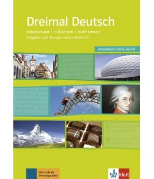 Dreimal Deutsch Arbeitsbuch + Audio-CD