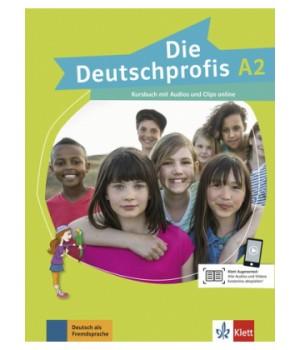 Підручник Die Deutschprofis A2 Kursbuch mit Audios und Clips online