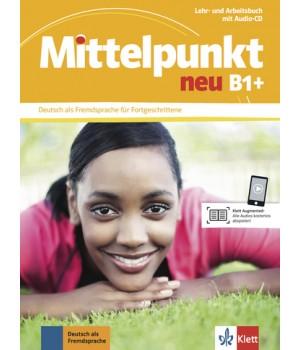 Підручник Mittelpunkt neu B1+ Lehr- und Arbeitsbuch