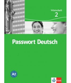 Словник Passwort Deutsch 2 Wörterheft