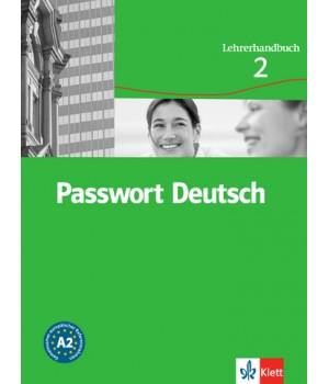 Книга для вчителя Passwort Deutsch 2 Lehrerhandbuch