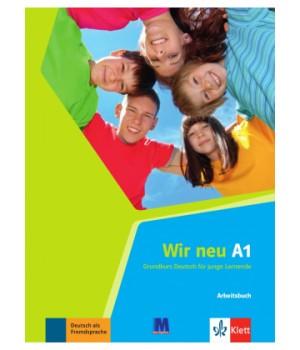 Рабочая тетрадь Wir Neu A1 Arbeitsbuch