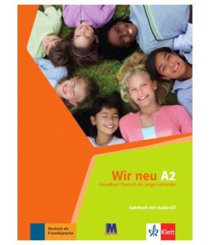 Підручник Wir Neu A2 Lehrbuch
