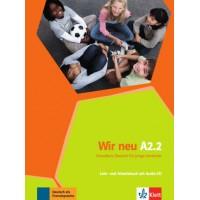 Підручник Wir Neu A2.2 Lehrbuch und Arbeitsbuch Teil 2