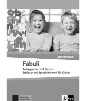 Книга для вчителя Fabuli Lehrerhandbuch