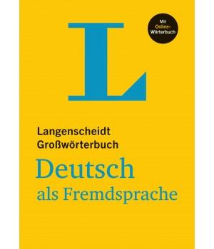 Словник Langenscheidt Großwörterbuch Deutsch als Fremdsprache mit Online Wörterbüch