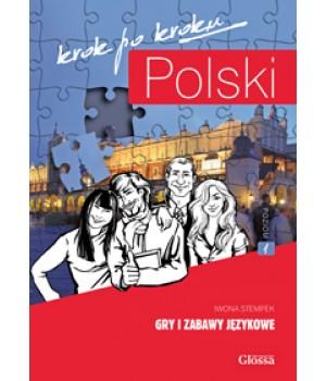 Книга для вчителя Polski, krok po kroku Gry i zabawy językowe