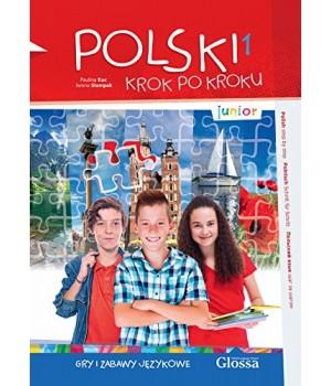 Книга для вчителя Polski, krok po kroku Junior Gry i zabawy językowe