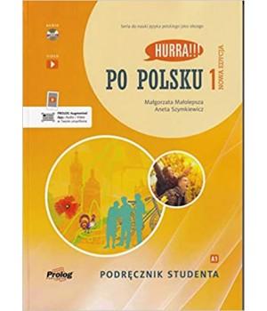 Підручник Hurra!!! Po Polsku Nowa Edycja 1 Podręcznik Studenta + CD