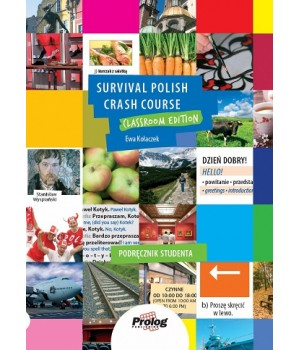 Учебник Survival Polish Crash Course. Self-study edition. книга, аудио в формате mp3, карточки