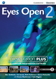 Диск Eyes Open Level 2 Presentation Plus DVD-ROM