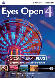Диск Eyes Open Level 4 Presentation Plus DVD-ROM