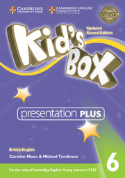 Диск Kid's Box Updated Second Edition 6 Presentation Plus DVD-ROM