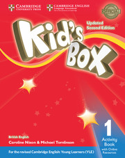 Робочий зошит Kid's Box Updated Second edition 1 Activity Book with Online Resources