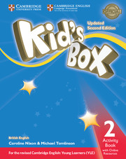 Робочий зошит Kid's Box Updated Second edition 2 Activity Book with Online Resources