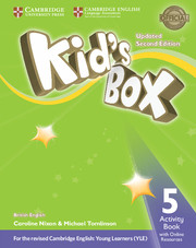 Робочий зошит Kid's Box Updated Second edition 5 Activity Book with Online Resources