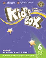 Робочий зошит Kid's Box Updated Second edition 6 Activity Book with Online Resources