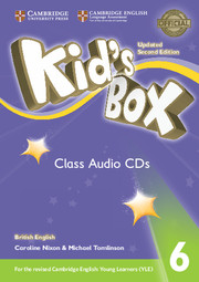 Диски Kid's Box Updated Second edition 6 Class Audio CDs (4)