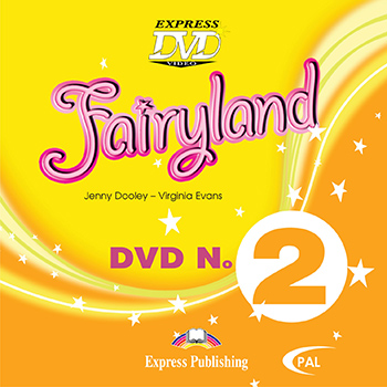 Диск Fairyland 2 DVD