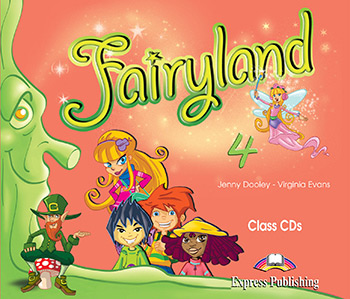 Диски Fairyland 4 Class CDs (Set of 4)