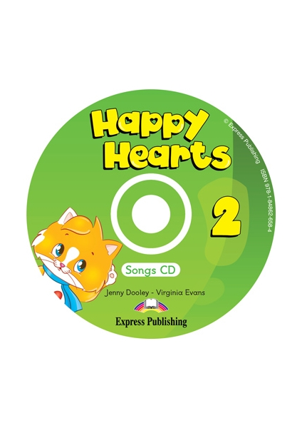 Happy Hearts 2 Songs Audio CD