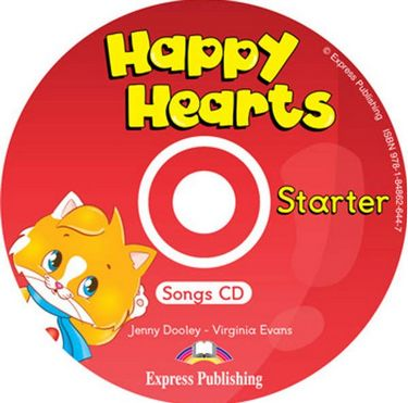 Happy Hearts Starter Songs Audio CD