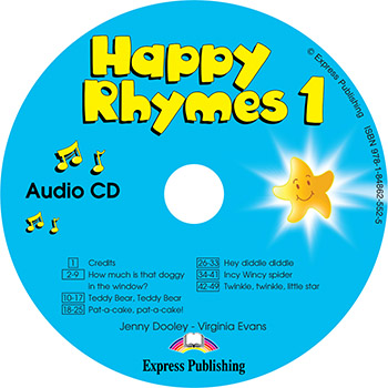 Диск Happy Rhymes 1 Class Audio CD