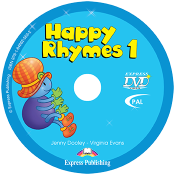 Диск Happy Rhymes 1 DVD